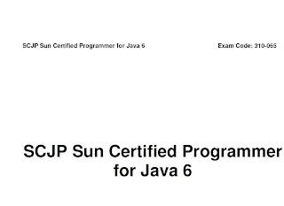 Free download scjp 1. 6 dumps dumps   latest certbible passguide.