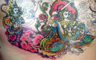 Some more ink from thailand s tattoo guru jimmy wong for Bangkok tattoo prices