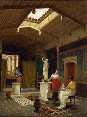 L 39 abitazione romana for Piani di casa con atrio in centro