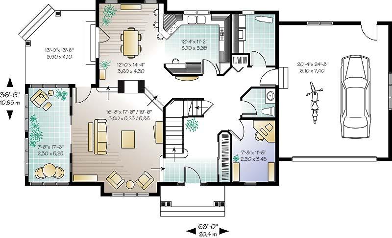 Plans De Maison Dessins Drummond 26 Bureaux 6