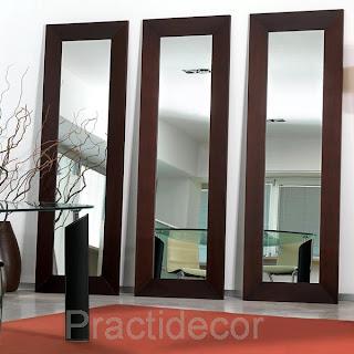 Practidecor marco con espejo for Espejo marco wengue
