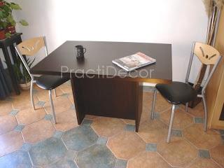 Practidecor mesas elevables for Diseno actual amoblamientos