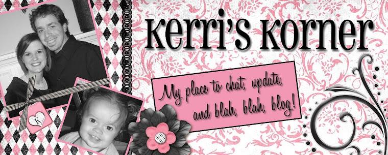 Kerri's Korner