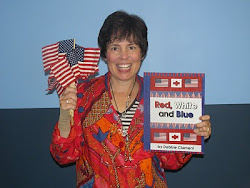 """My NEWEST Picture Book: """"Red, White and Blue"""""""