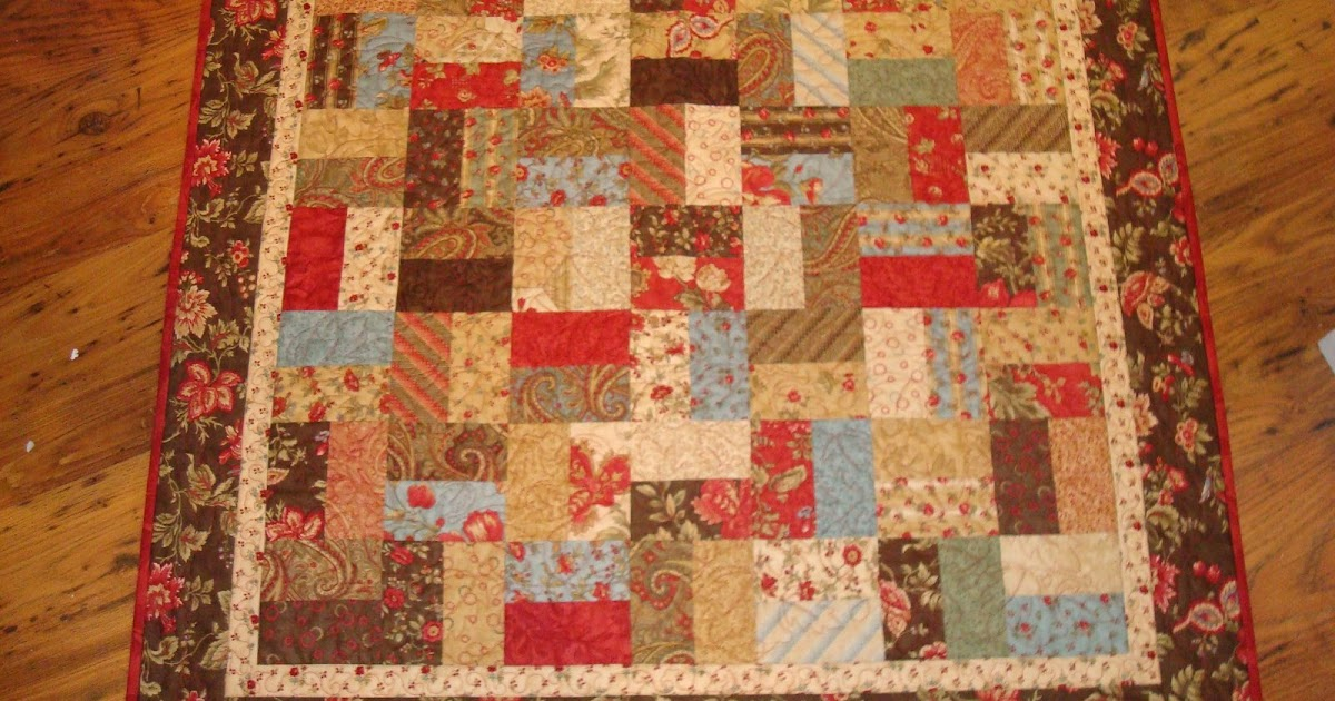 News from the hen house charm quilt pattern for Red door design quilts