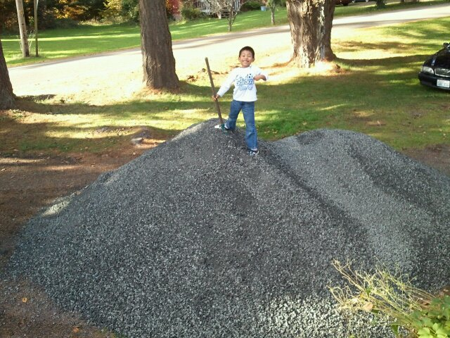 How Much Will A Yard Of Gravel Cover Insured By Laura
