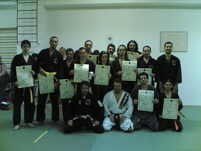 con gli allievi del Maestro Mauro De Gennaro