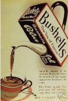 Les affiches du temps passé quand la pub s'appelait réclame .. - Page 6 Bushells