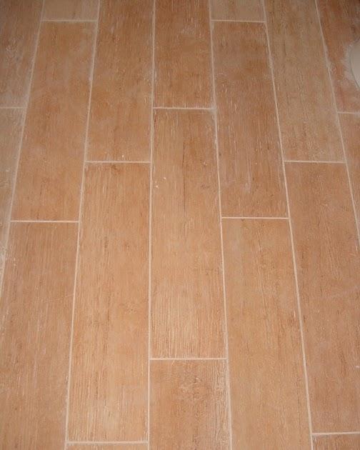Bathroom Tile Looks Like Wood: First A Dream: My Bathroom Tile Looks Like Wood