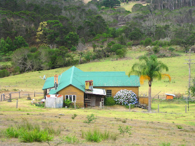 typical Australian house in country