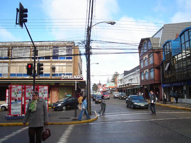 Calle Arauco con O'Higgins
