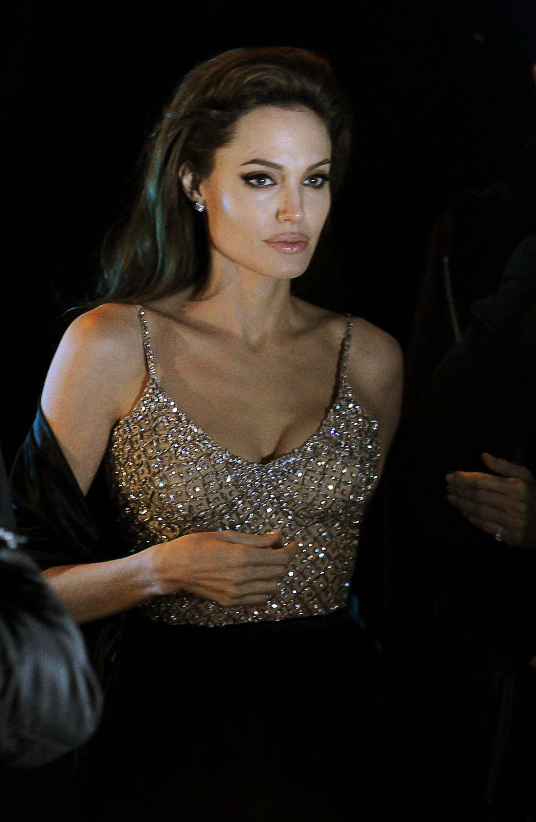"""Angelina Jolie Look Using All Drugstore Makeup: """"The Tourist"""" Premiere In Madrid"""