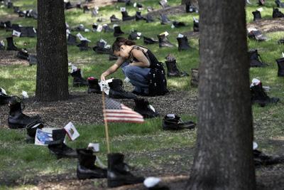 ce qui rest des soldats americain