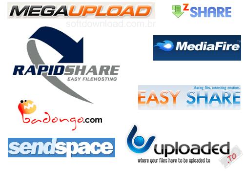 varios arquivos rapidshare