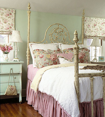 English Country Cottage Bedroom Design