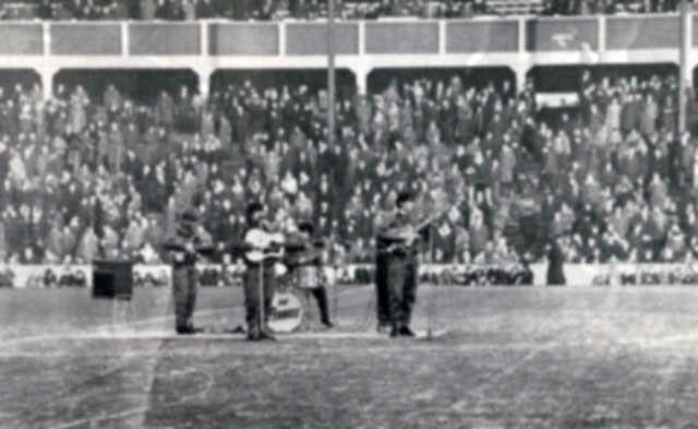 BLACKBURN PAST: The Four Pennies at Ewood Park (c1964 -5)