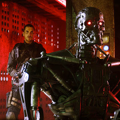John Connor vs Terminator robot - Terminator Salvation