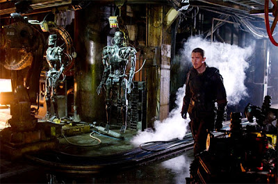 Christian Bale as John Connor in Terminator 4