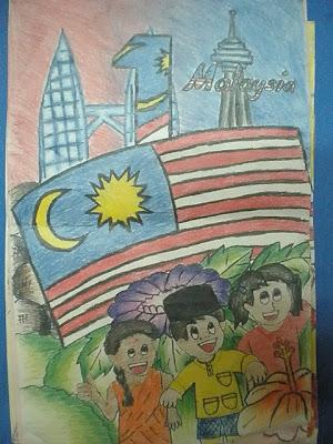 CATATAN SEORANG GURU: Pertandingan Mewarna Poster