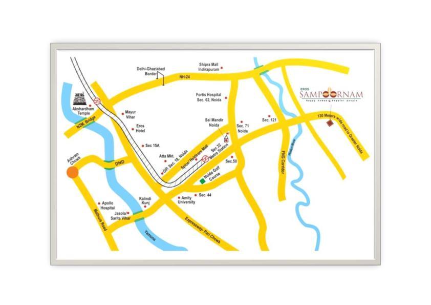 Eros-Sampoornam-Location-Map