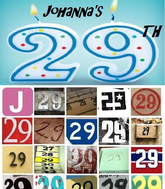 Johanna: Happy Birthday To Me