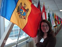 Shauna in Moldova
