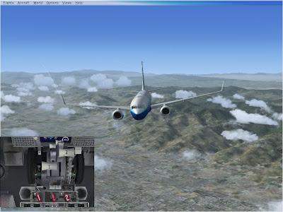 Sheer Flying Pleasure: Flight Sim X: Landing With A Rudder Failure