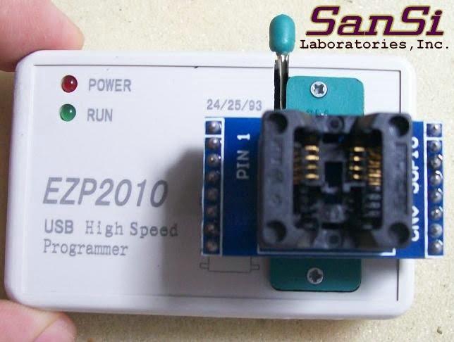kin electronics: EZP 2010 High Speed USB SPI Programmer
