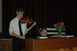 our violinist and pianist