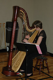 our harpist