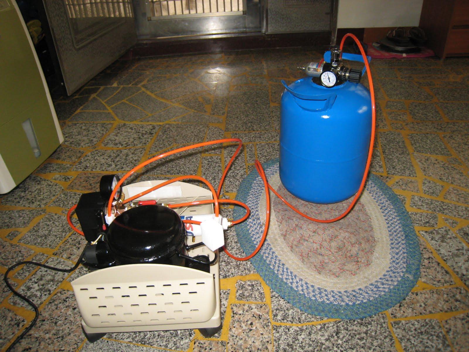 Tsaiyt: DIY Air Compressor