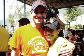 Con el Gobernador Henrique Capriles