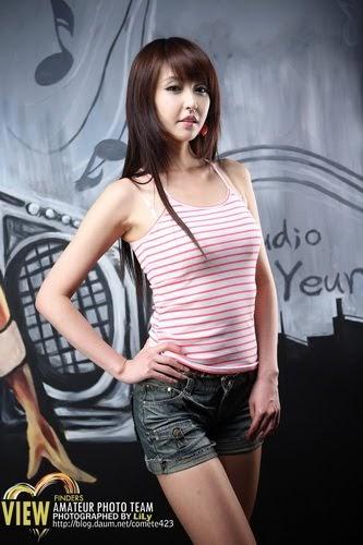 Girls Breast Wallpaper Kang Yoo Lee Korean Race Queen Pictures Korean Star