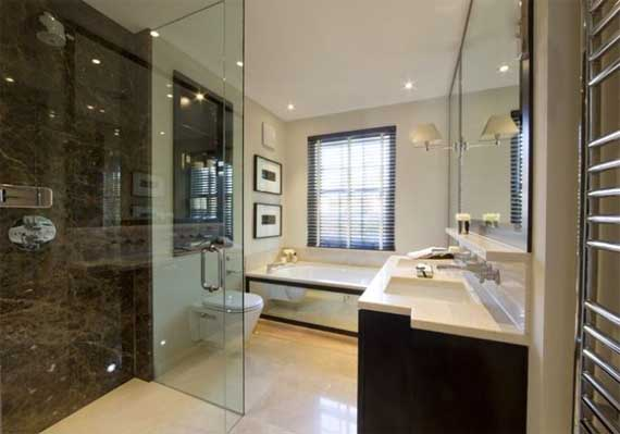 12 Luxurious Bathroom Design Ideas: Contemporary House And Interior Remodelled By Finchatton