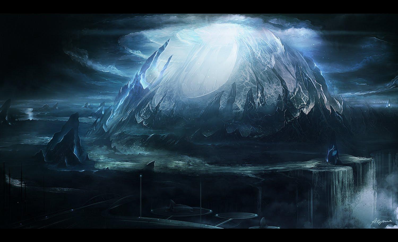 20 Magnificent Dark Fantasy (Landscape) Digital Painting ...