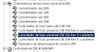 administrador de dispositivos memoria usb no reconocida en windows