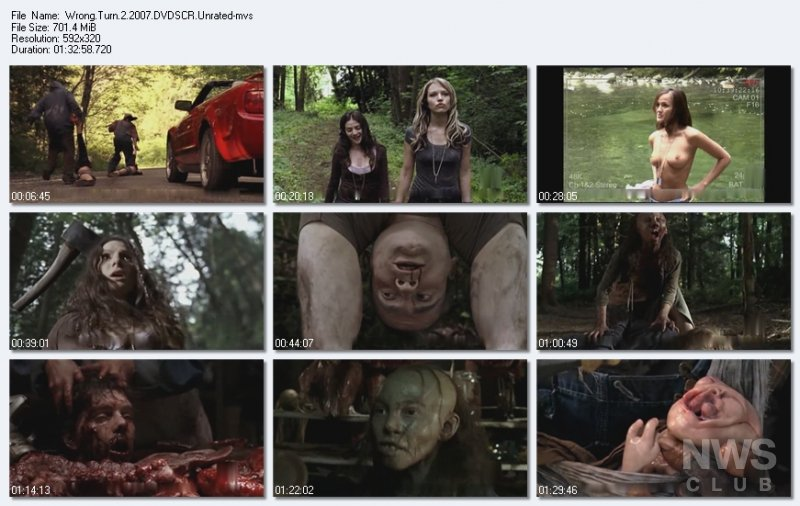 Movies Matrix Wrong Turn 2 Dead End 2007-8782