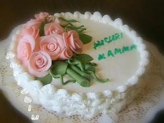 Torte Di Compleanno Per Mamma.Pasticciando In Cucina Torta Di Compleanno Per La Mia Mamma