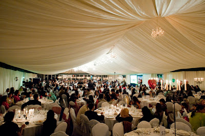 Over 550 Muslim Community members gathered for the Iftar dinner