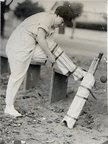 Letitia as cricketer