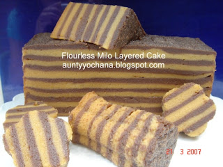 Steam Milo Cake Recipe