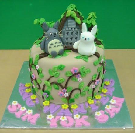 Yochana S Cake Delight Totoro Cake
