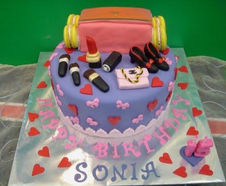 Yochanas Cake Delight Sonias 15th Birthday Cake