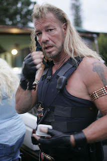 ... phone conversation between duane dog chapman the star of the hit a e