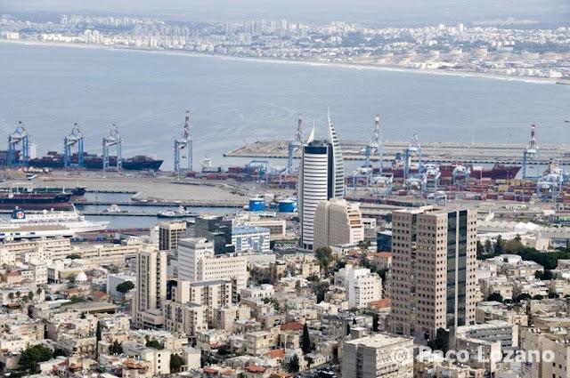 Panorámica de Haifa