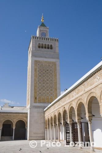 La mezquita Zituna (o Zitouna)