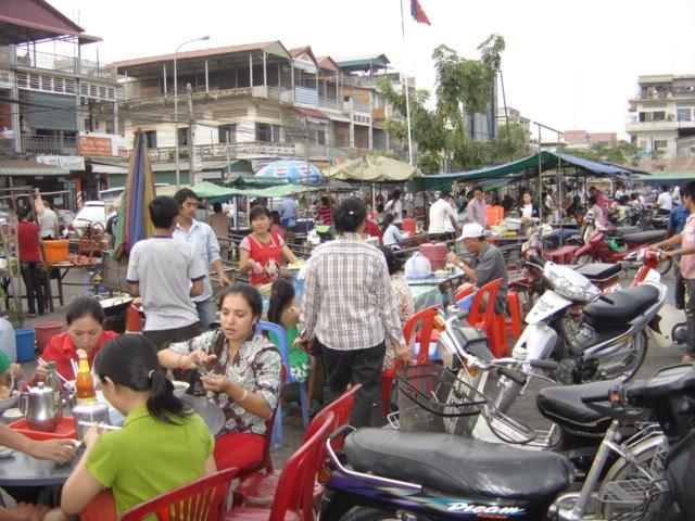 El Mercado Ruso de Phnom Penh