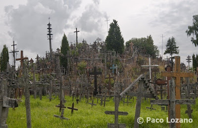The Hill of Crosses in Lithuania