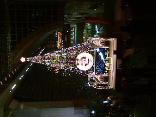 伊勢丹のクリスマスツリー