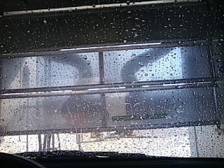 洗車機の中より1